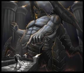 The Crusader by AlexDRomero