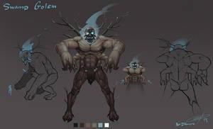 Golem concept by AlexDRomero
