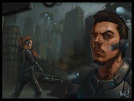 __Sci-Fi Scene__ by AlexDRomero