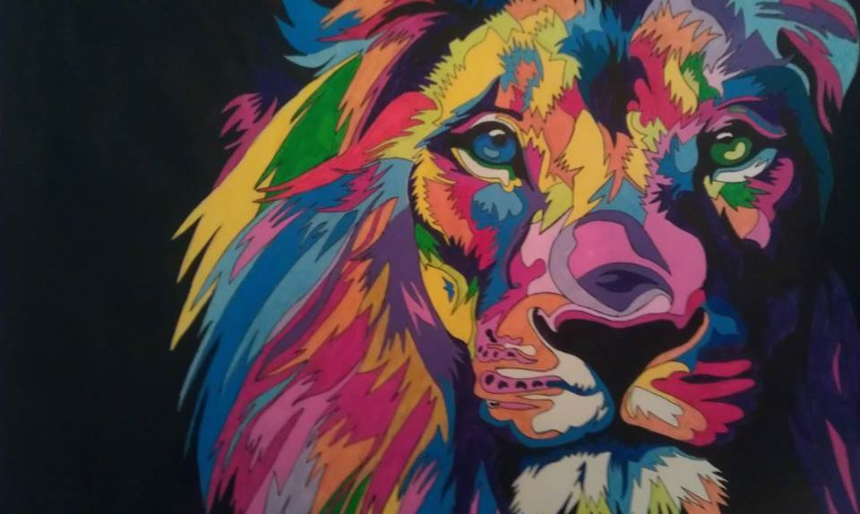 List Of Synonyms And Antonyms Of The Word Psychedelic Lion