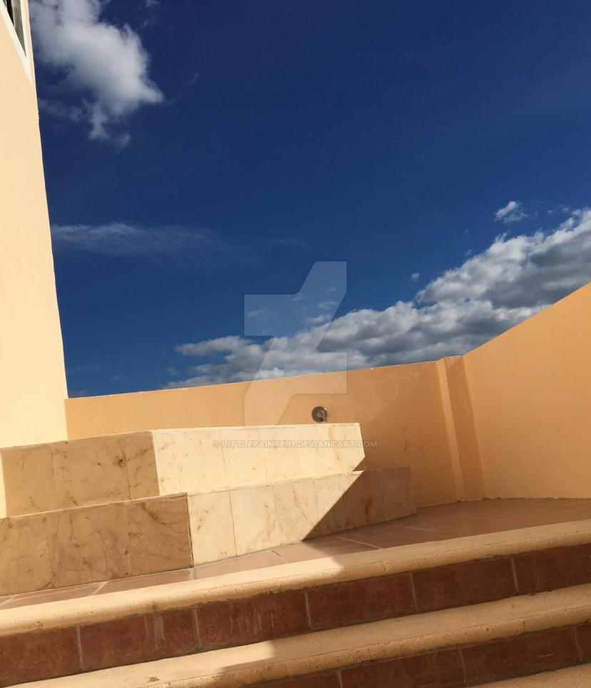 Roof top by littlepainter1