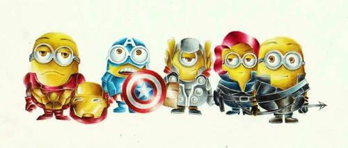 Where is minion hulk? by rommeldrawlines-12