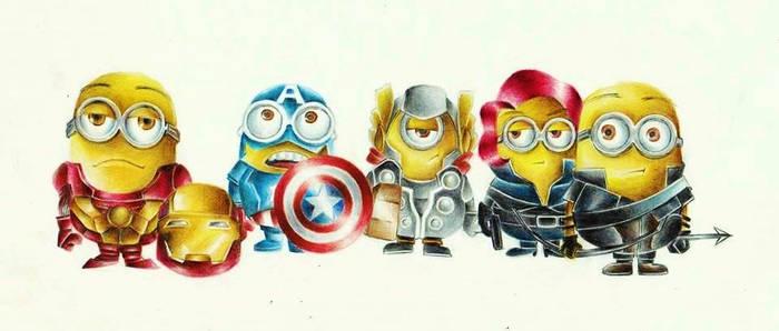 Where is minion hulk?