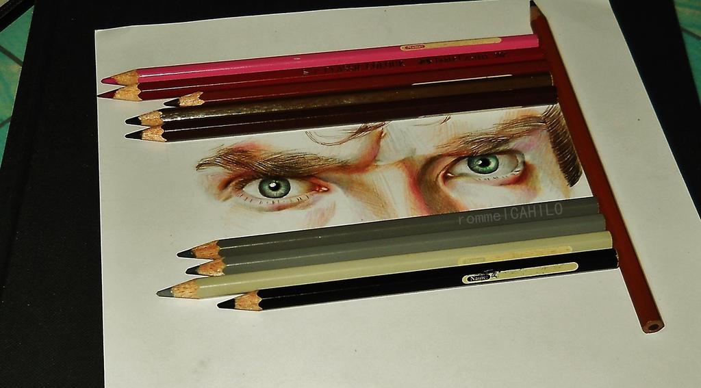 Sherlock's Eyes by rommeldrawlines-12