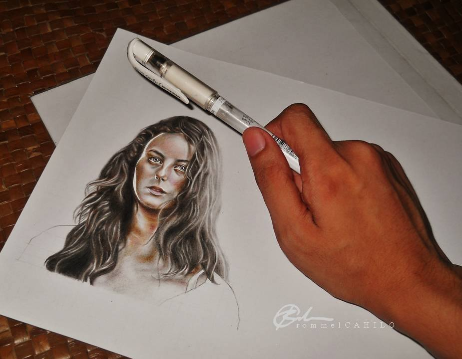 Teresa Agnes WIP by rommeldrawlines-12