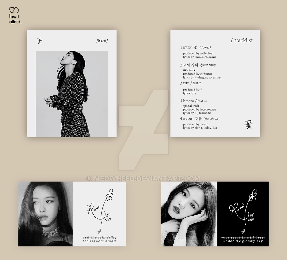 BLACKPINK ] kkot concept album by meowheed on DeviantArt