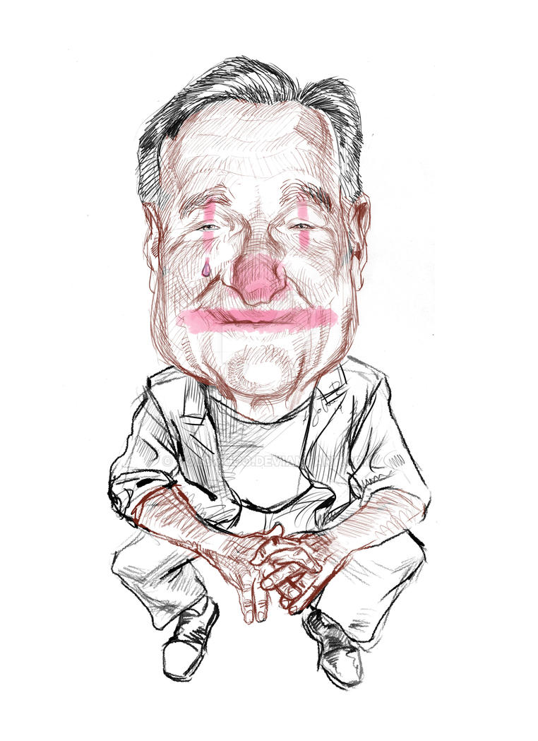 Robin Williams by Tolomuco