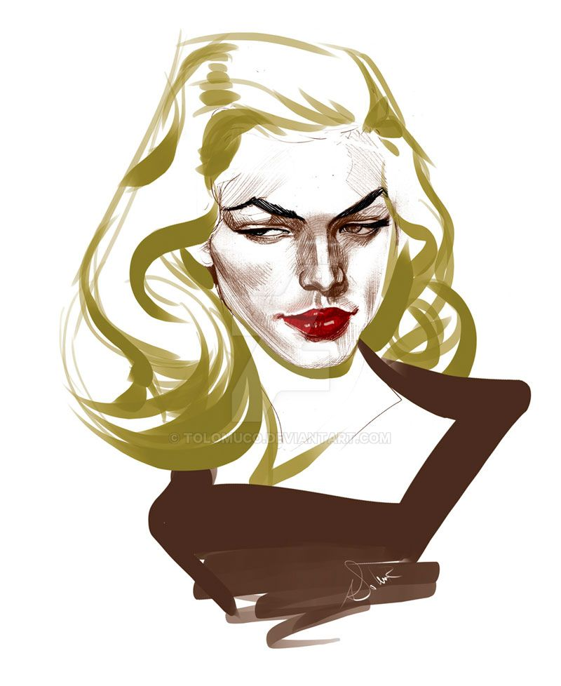 Rd14 Lauren Bacall by Tolomuco