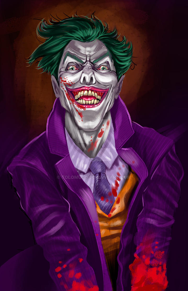 Joker by Tolomuco