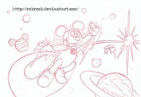 BW-Mickey Lantern
