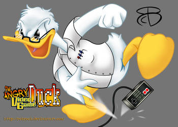 The Angry Video Game Duck by RCBrock