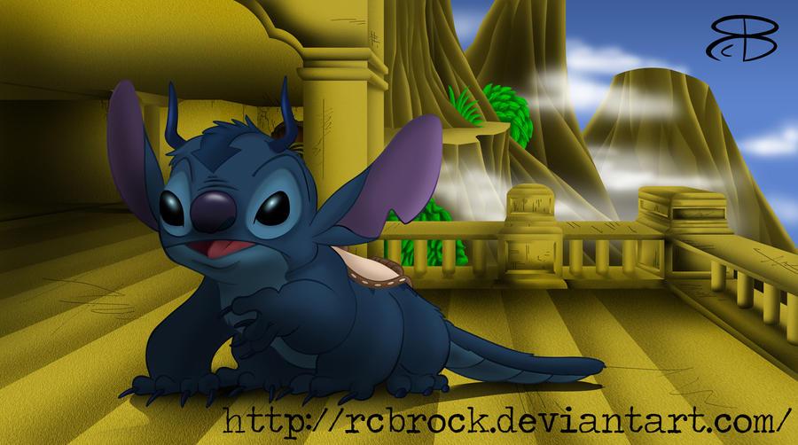 Арт Disney Air_temple_appa_stitch_by_rcbrock-d416dyg