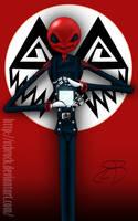 Red Skellington by RCBrock