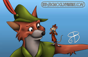 Robin Hood and Basil the Great Mouse Detective by RCBrock