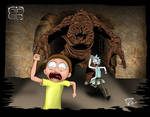 Rick and Morty Meet the Rancor