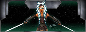 Ahsoka Tano Widescreen by RCBrock