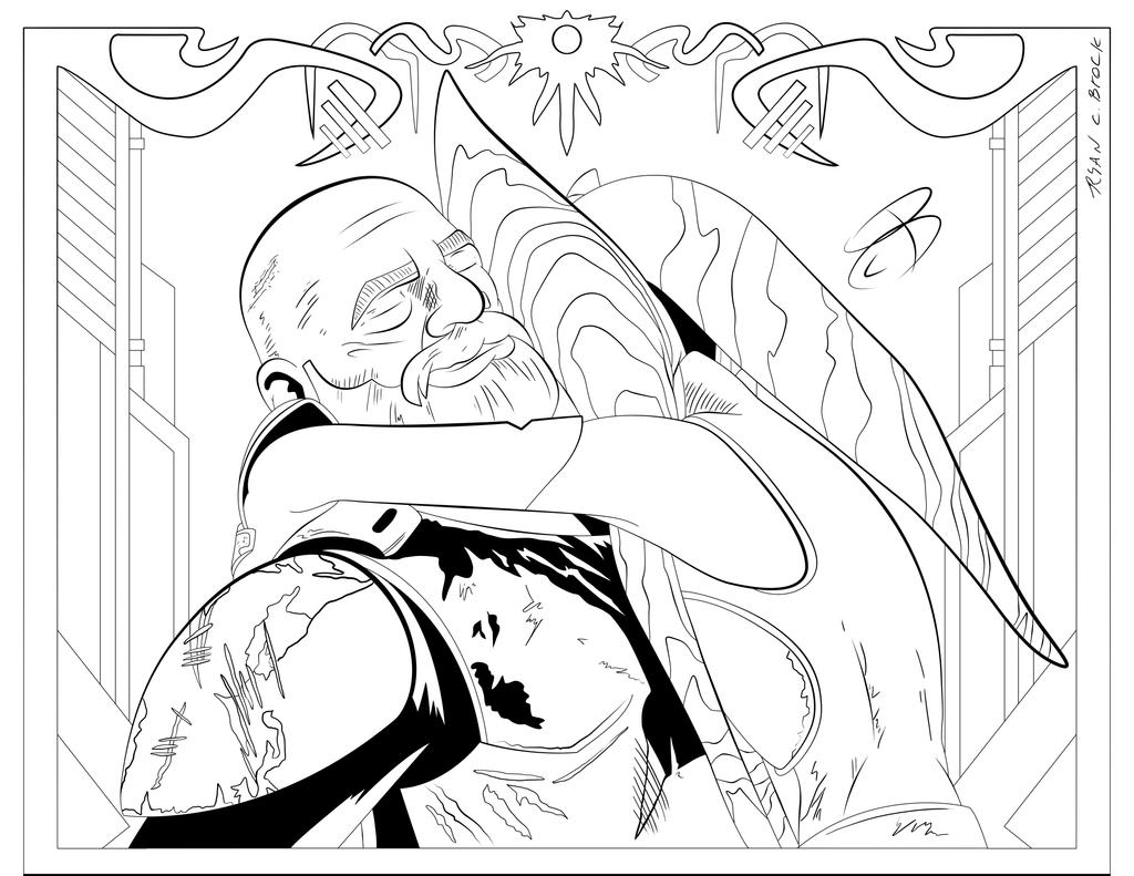 Coloring Pages- Ahsoka and Rex