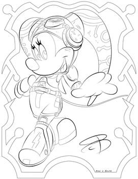 Coloring Pages - Hera Mouse