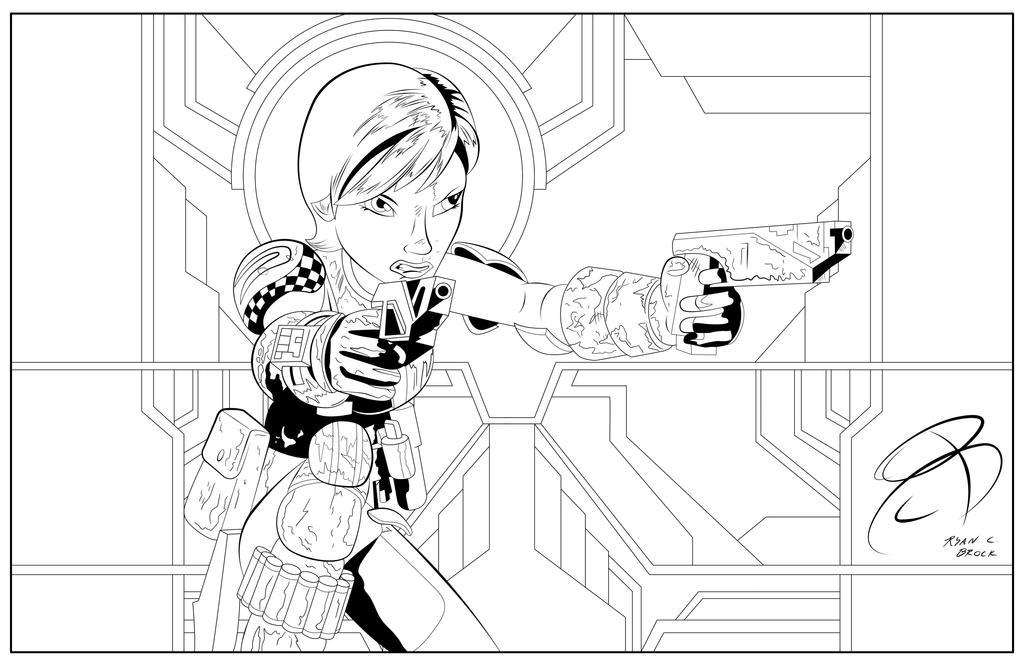 Coloring Pages Sabine Wren By Rcbrock On Deviantart Click The Star Wars Rebels