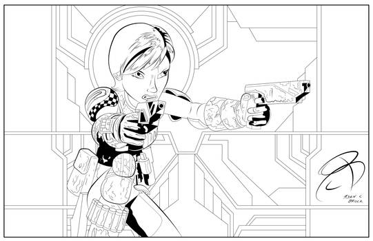 Coloring Pages- Sabine Wren