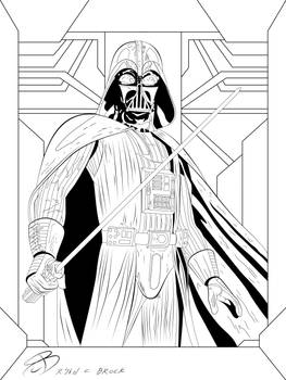 Coloring Pages - Darth Vader