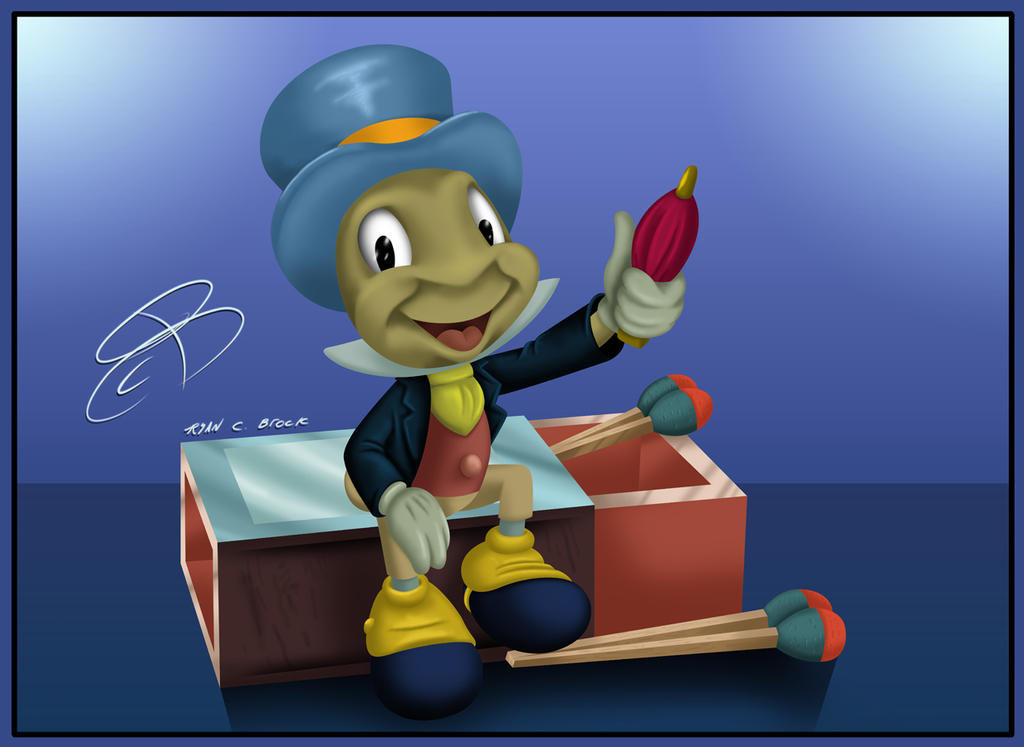 Jiminy Cricket by RCBrock on DeviantArt