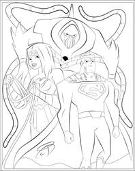 Coloring Pages - Justice League Action