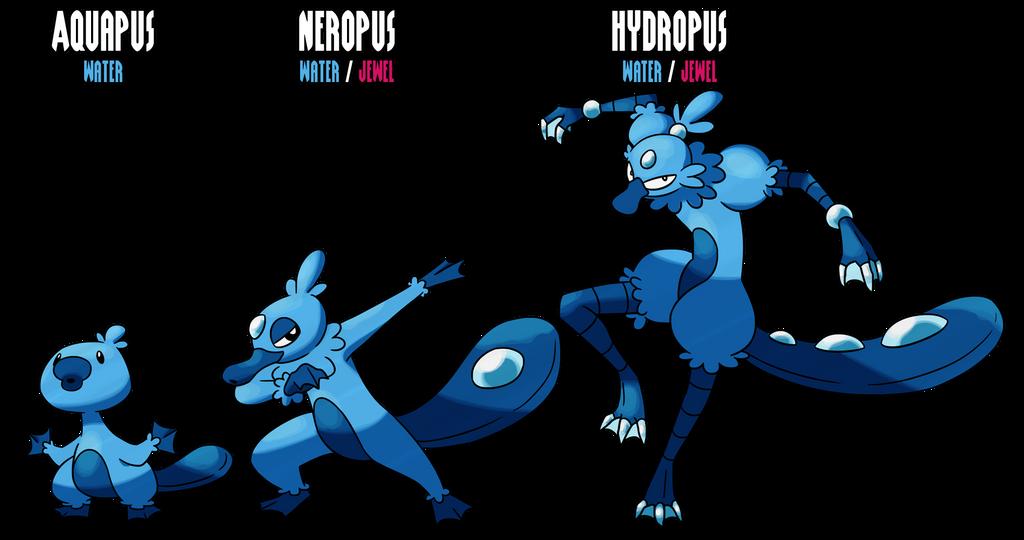 07-09 - Aquapus - Neropus - Hydropus by miriakiko