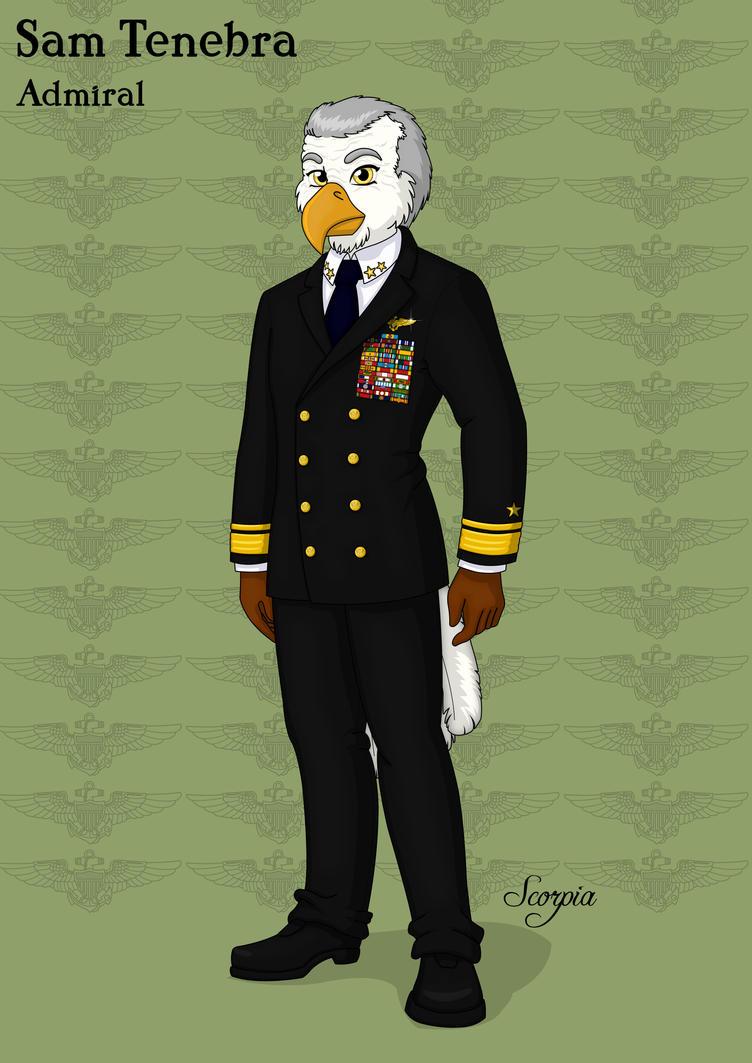 Admiral Sam Tenebra by elleboe