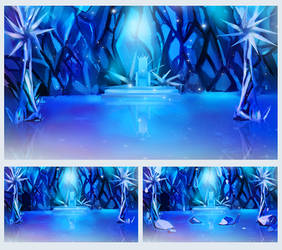 Icy Throne Room
