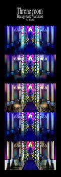 Throne room-Background variation