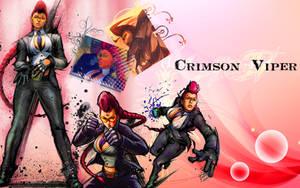 Crimson Viper wallpaper by Ishily