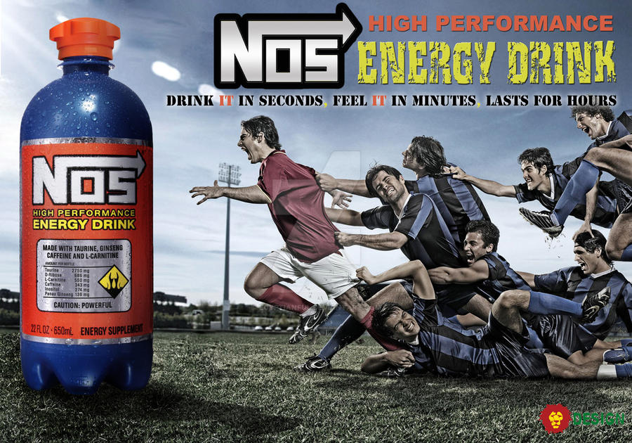 advertisement NOS Energy Drink by Egyptianful on DeviantArt