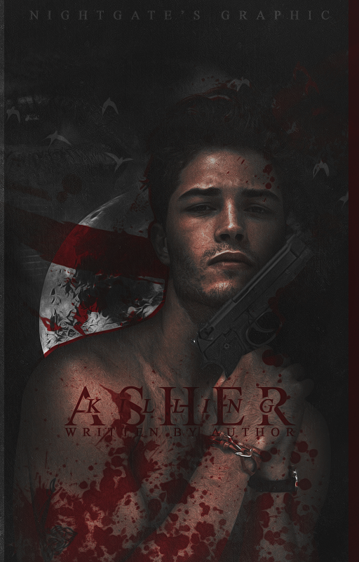 Killing Asher [Wattpad Cover #8] by night-gate