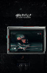 District [Wattpad Cover #24] by night-gate
