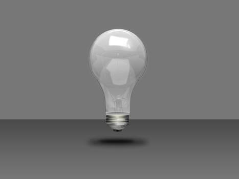 Photoshop 3d- Lightbulb