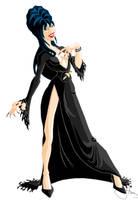 Elvira, Mistress of the Dark by animatorsc