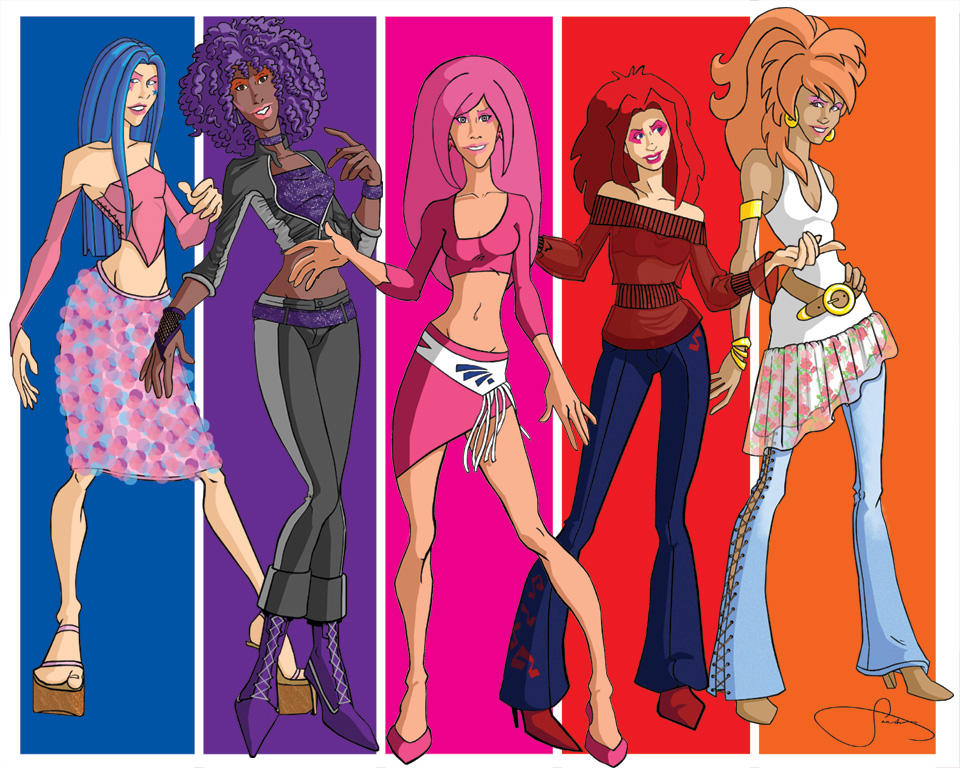Jem and the Holograms by Anthro7 on DeviantArt