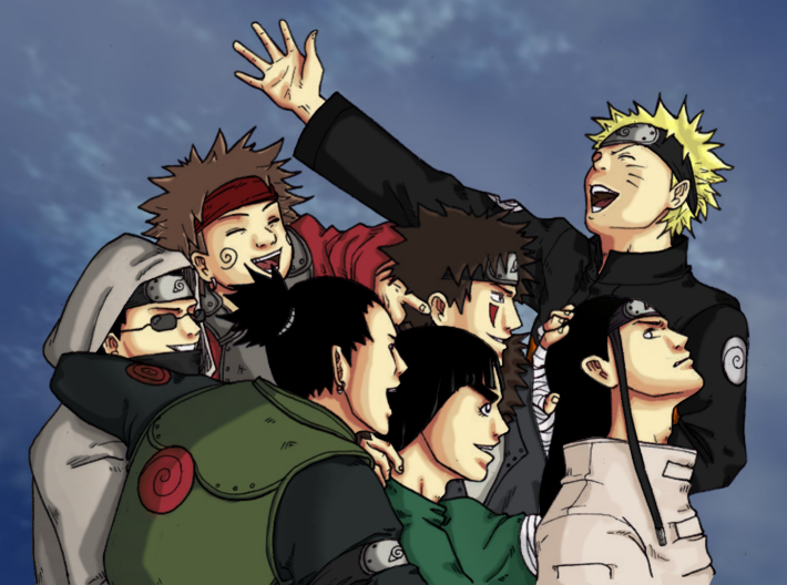 Naruto-brothers in arms by CindyRex