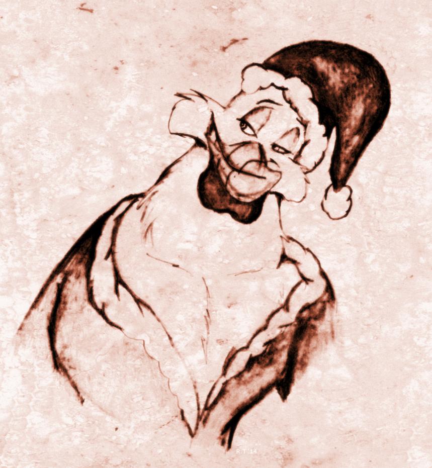 Santa Baby by roamingtigress