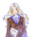 HP - Luna Lovegood with The Quibbler