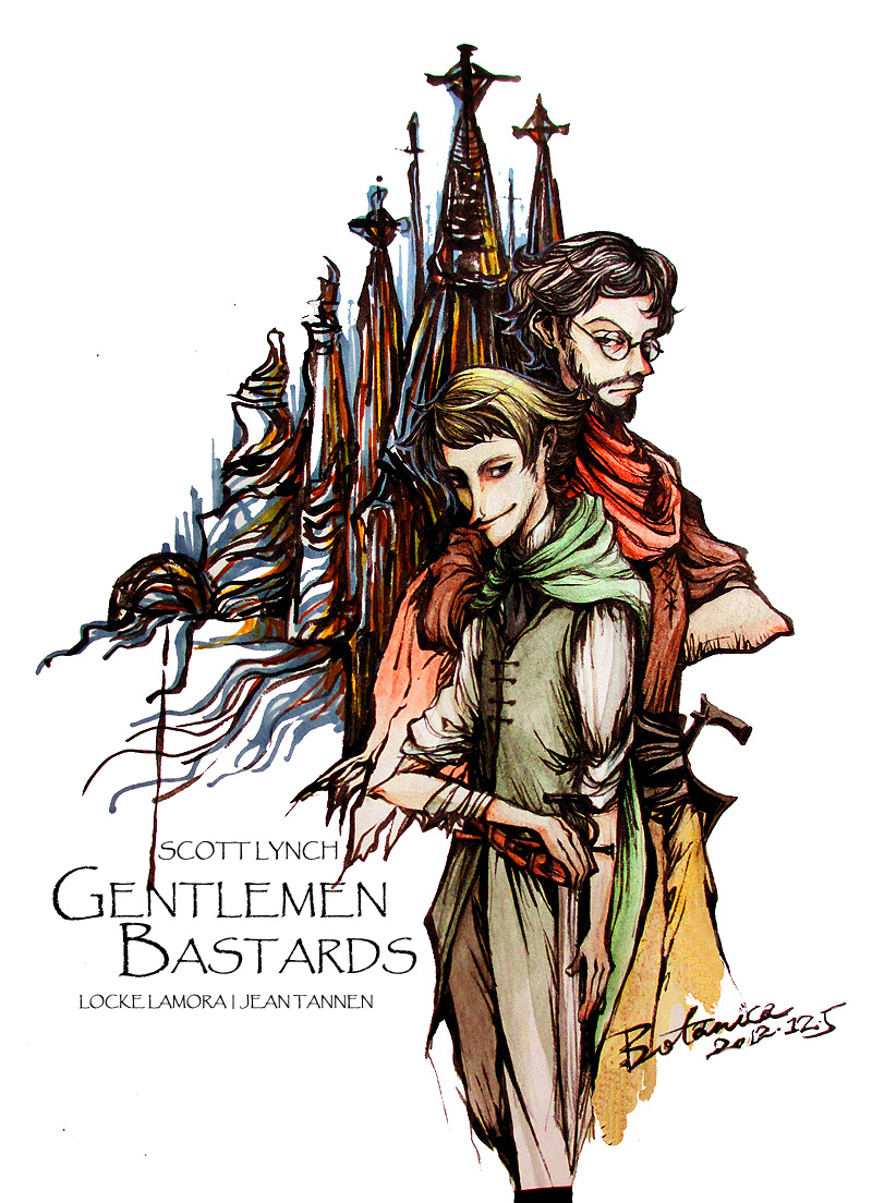 GENTLEMEN-BASTARDS - Locke Lamora, Jean Tannen by BotanicaXu