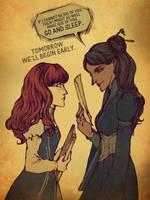 tWoK - Shallan vs Jasnah by BotanicaXu