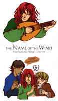 The Name Of The Wind sketch by BotanicaXu