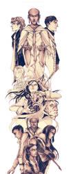 The Mistborn Cast by BotanicaXu