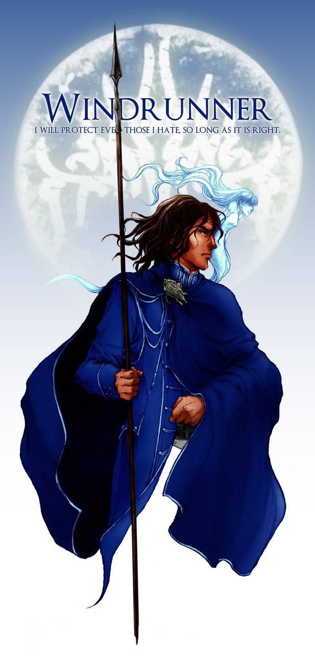 Kaladin / Third Ideal of the Windrunners by BotanicaXu