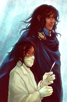 WoK - Kaladin as Surgeon Apprentice and Soldier by BotanicaXu
