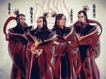 ATLA Firelords - Sozin, Azulon, Zuko, Ozai