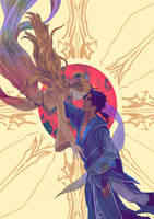 Oathbringer - Young Dalinar and Evi by BotanicaXu