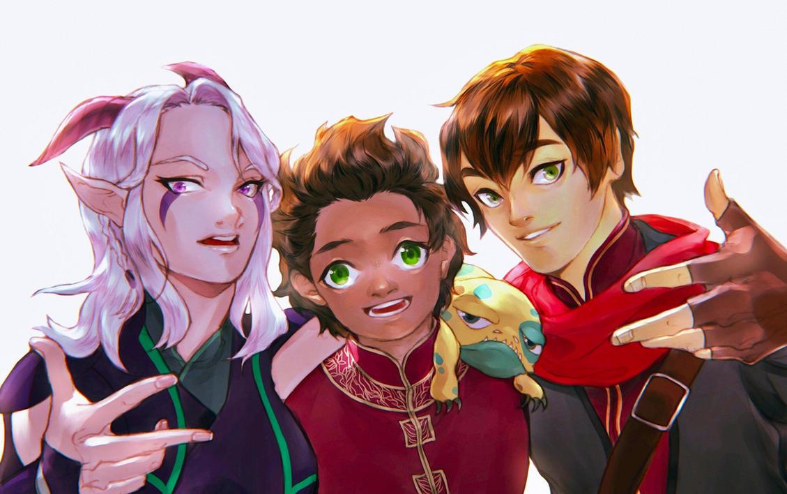 The Dragon prince 2018 Callum x Reader lemon fanfiction tumblr